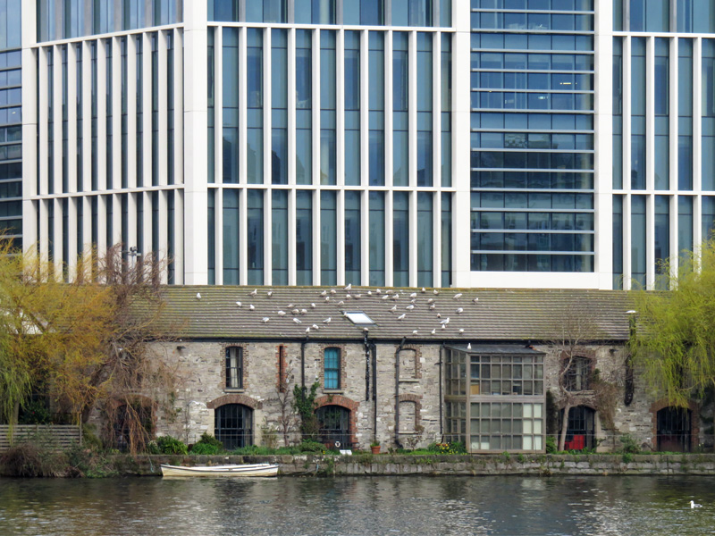Grand Canal Dock, Dublin, Architecture